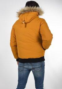 Solid - Winter jacket - sudan brown - 2