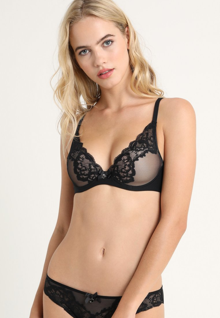 Chantelle - ORANGERIE - Triangle bra - black