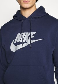 Nike Sportswear - HOODIE - Hoodie - midnight navy/(reflective) - 5