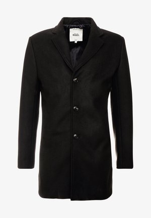 HERMAN COAT - Kort kappa / rock - black