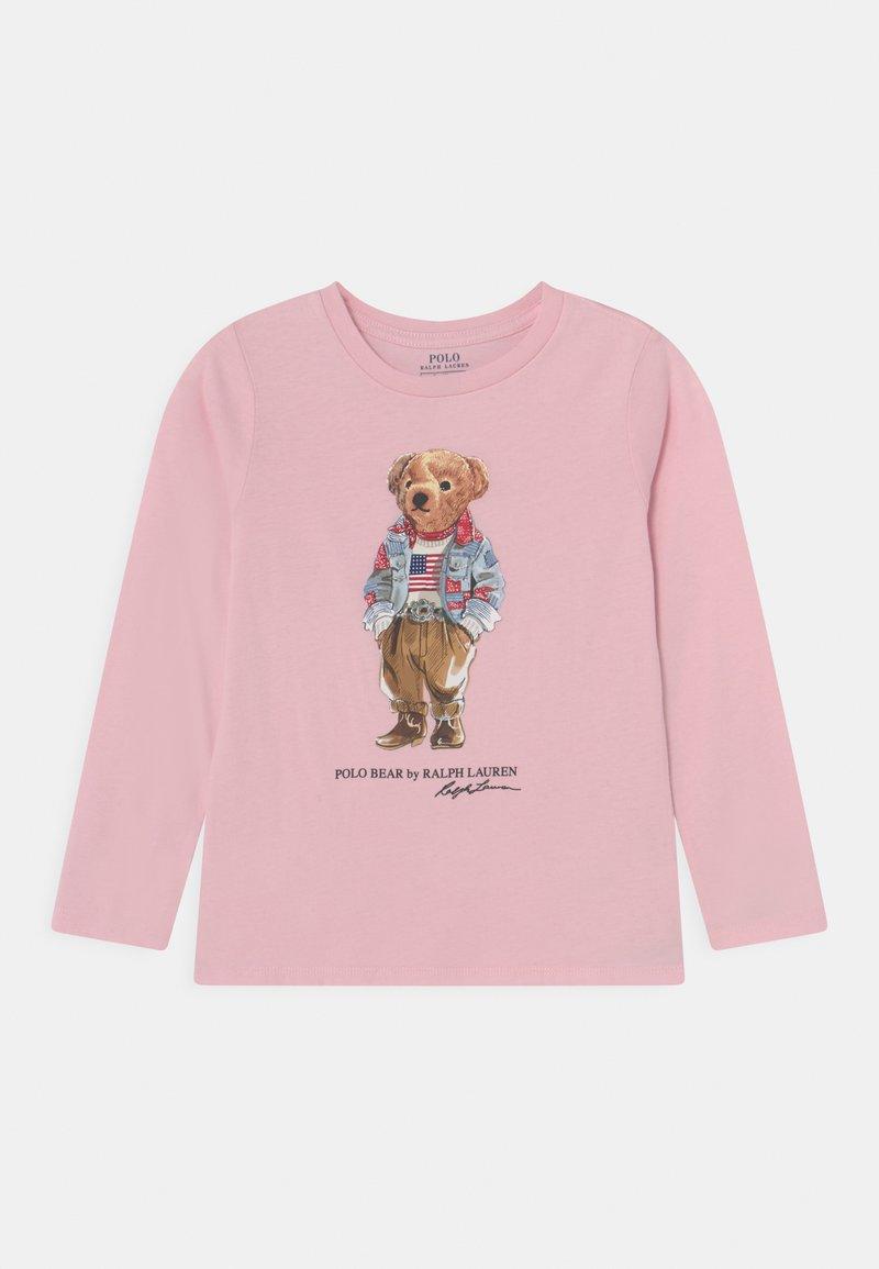 Polo Ralph Lauren - BEAR TEE - T-shirt à manches longues - hint of pink