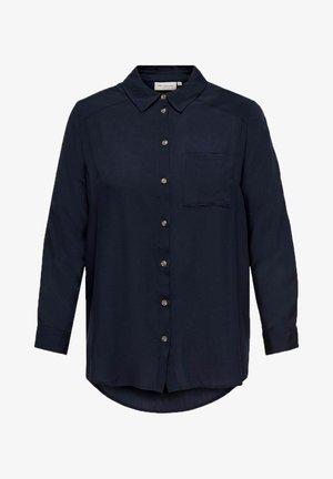 CARDENIZIA SOLID - Button-down blouse - night sky