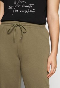 Pieces Curve - PCSARIA PANTS - Pantaloni - burnt olive - 4