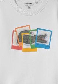 Lacoste - POLAROID UNISEX - Sweatshirts - white - 2
