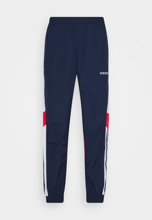 TRACKPANT - Spodnie treningowe - navy/grey/red
