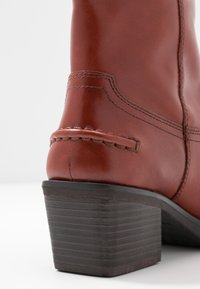 Vagabond - SIMONE - Cowboy/Biker boots - henna - 2