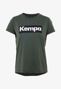 Kempa - LAGANDA WOMEN - T-shirts print - deep green - 4