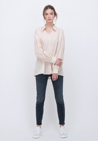 someday. - Button-down blouse - beige - 1