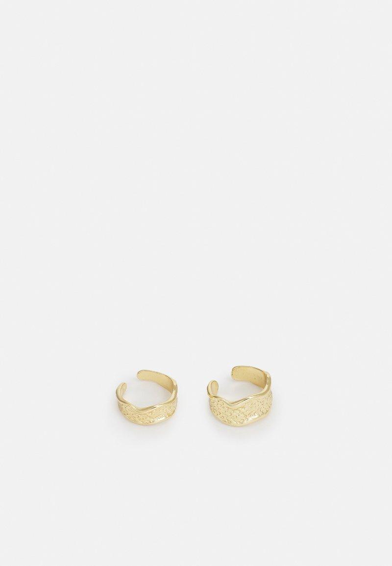 Pilgrim - EARRINGS DANIELA 2 PACK - Earrings - gold-coloured