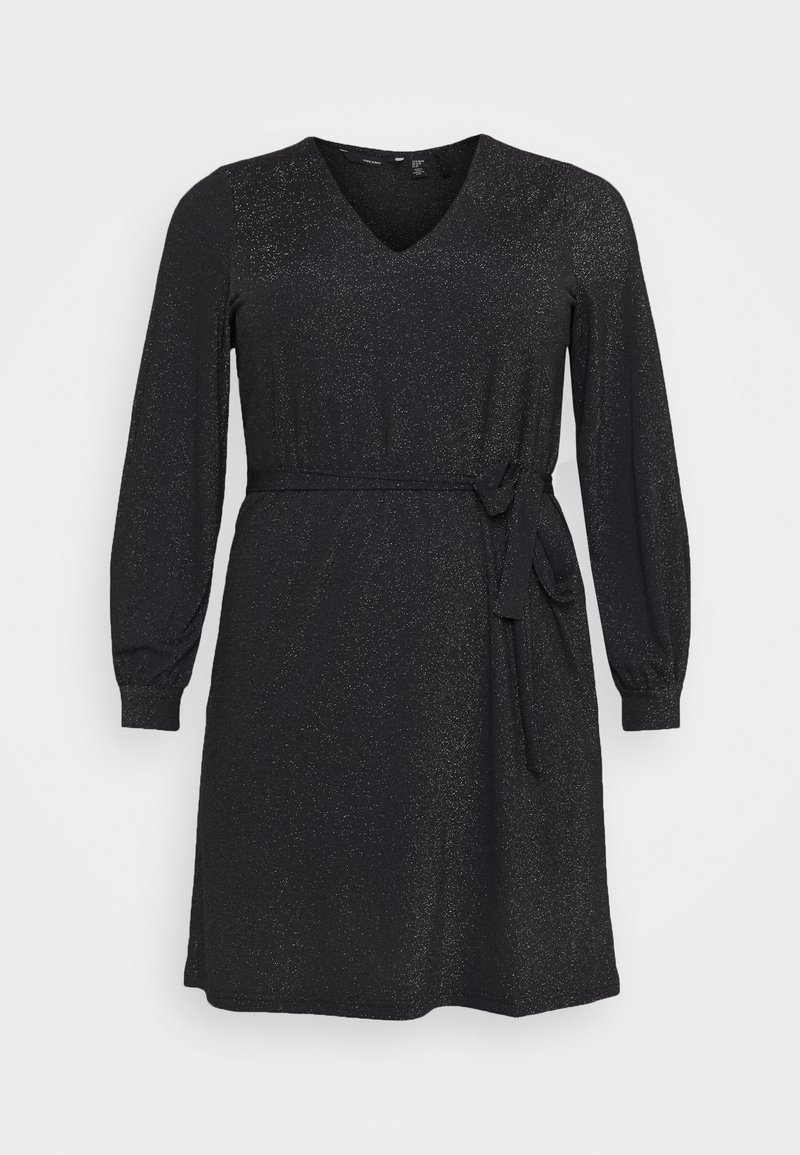 Vero Moda Curve - VMJELINA - Jersey dress - black