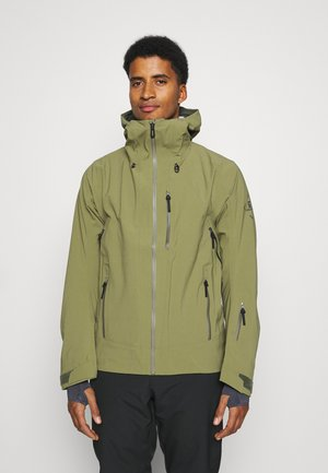 OUTLAW - Hardshell jacket - martini olive/olive night/ebony