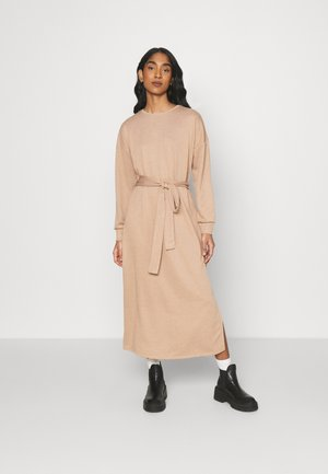 ONLHOLLIE LONG BELT DRESS - Vapaa-ajan mekko - burro