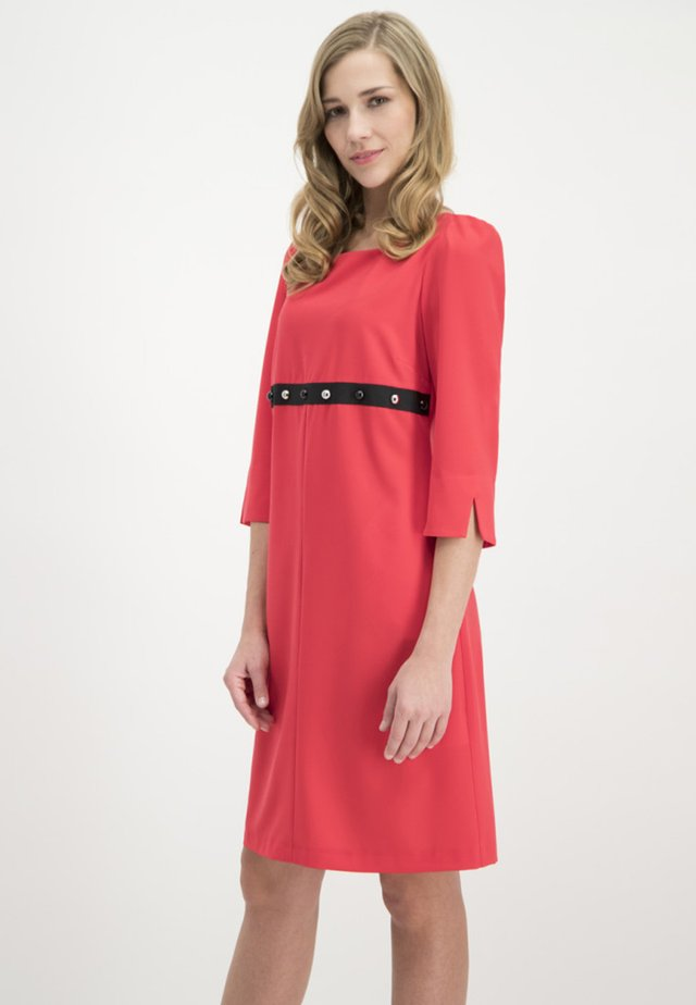 MIT NIETENBESATZ - Day dress - red