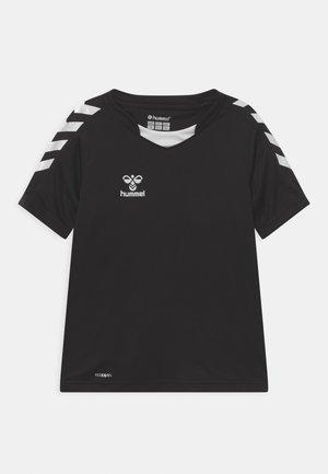 CORE POLY UNISEX - T-shirt print - black