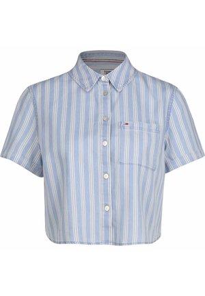 Button-down blouse - lt indigo