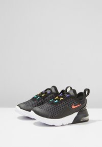Nike Sportswear - Trainers - black/flash crimson/gold/psychic purple