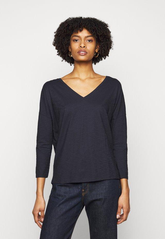 VENJA - T-shirt à manches longues - dark blue