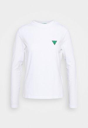ELIZA TEE - Long sleeved top - true white