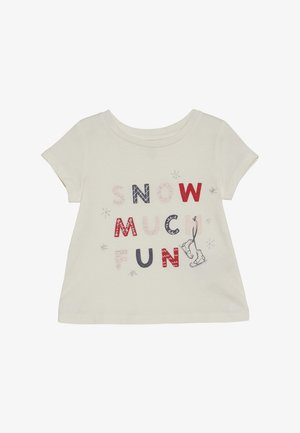 TODDLER GIRLS  - T-shirt imprimé - ivory frost