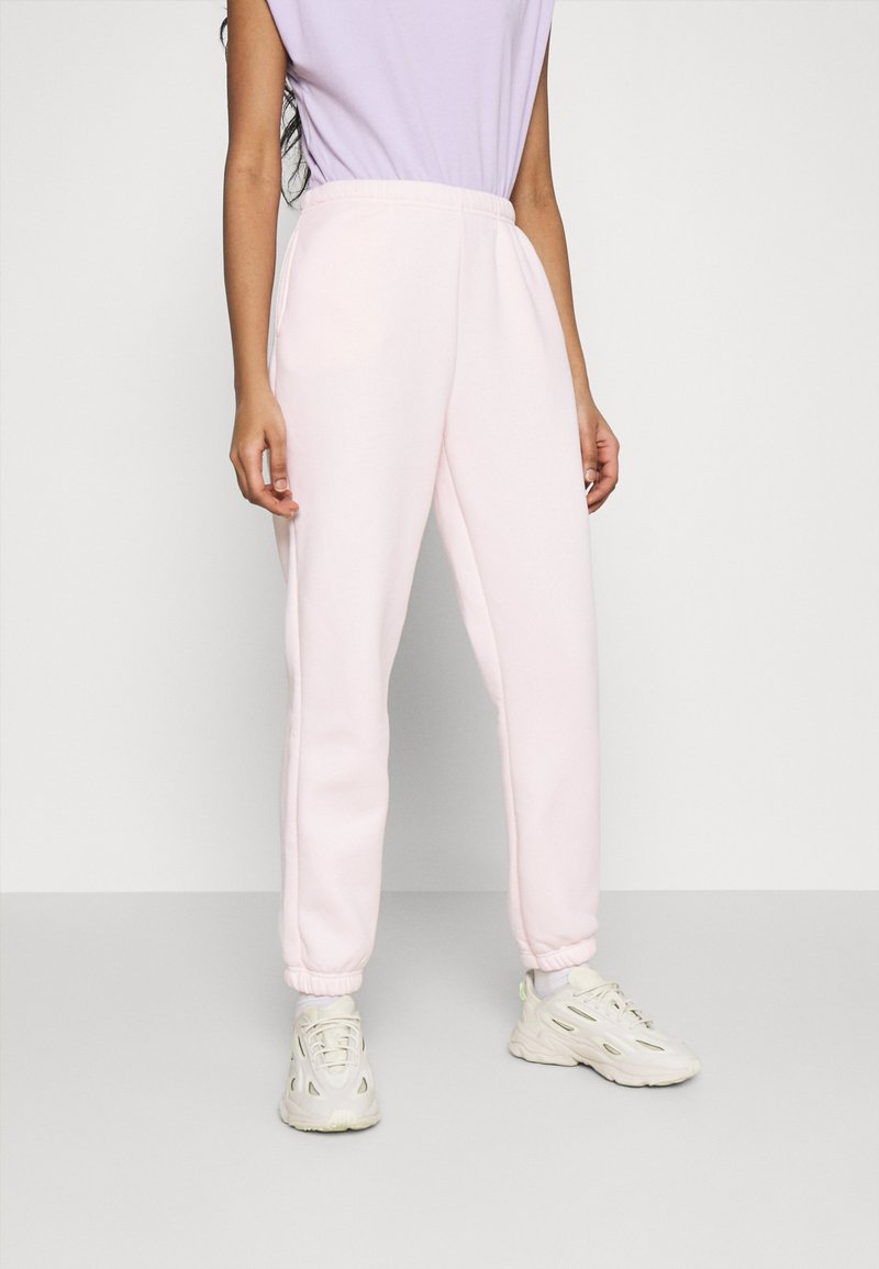 Gina Tricot - BASIC - Tracksuit bottoms - barely pink