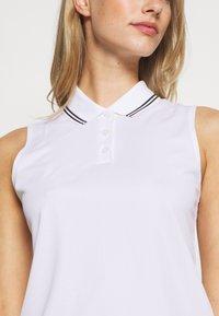 Nike Golf - DRY VICTORY - Funkční triko - white/black - 4