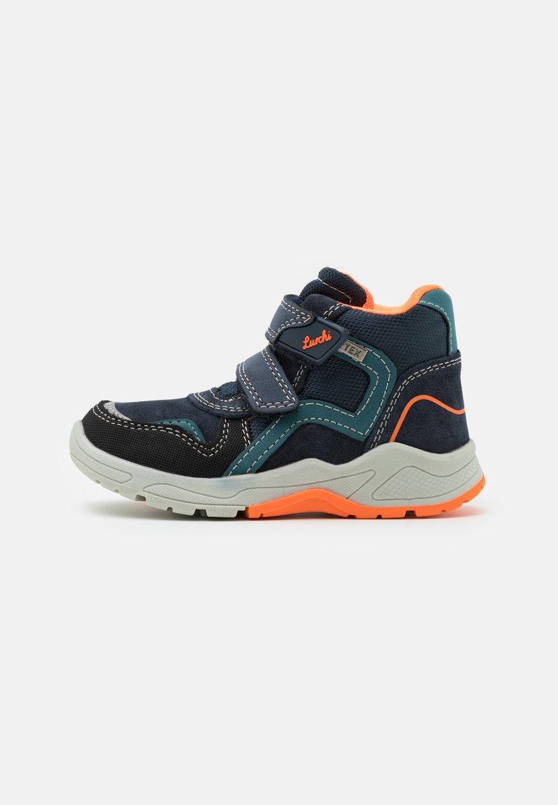 Lurchi - CHRISTIAN TEX - Classic ankle boots - dark navy/orange