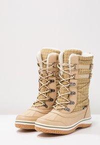 KangaROOS - RIVASKA - Winter boots - beige/green/white - 3