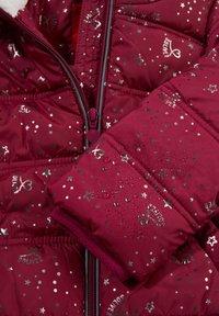 s.Oliver - Winter jacket - dark pink aop - 3