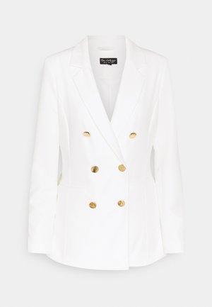 WHITE TEX BLAZER - Blazer - ivory