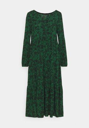 Volant - Day dress - green/black