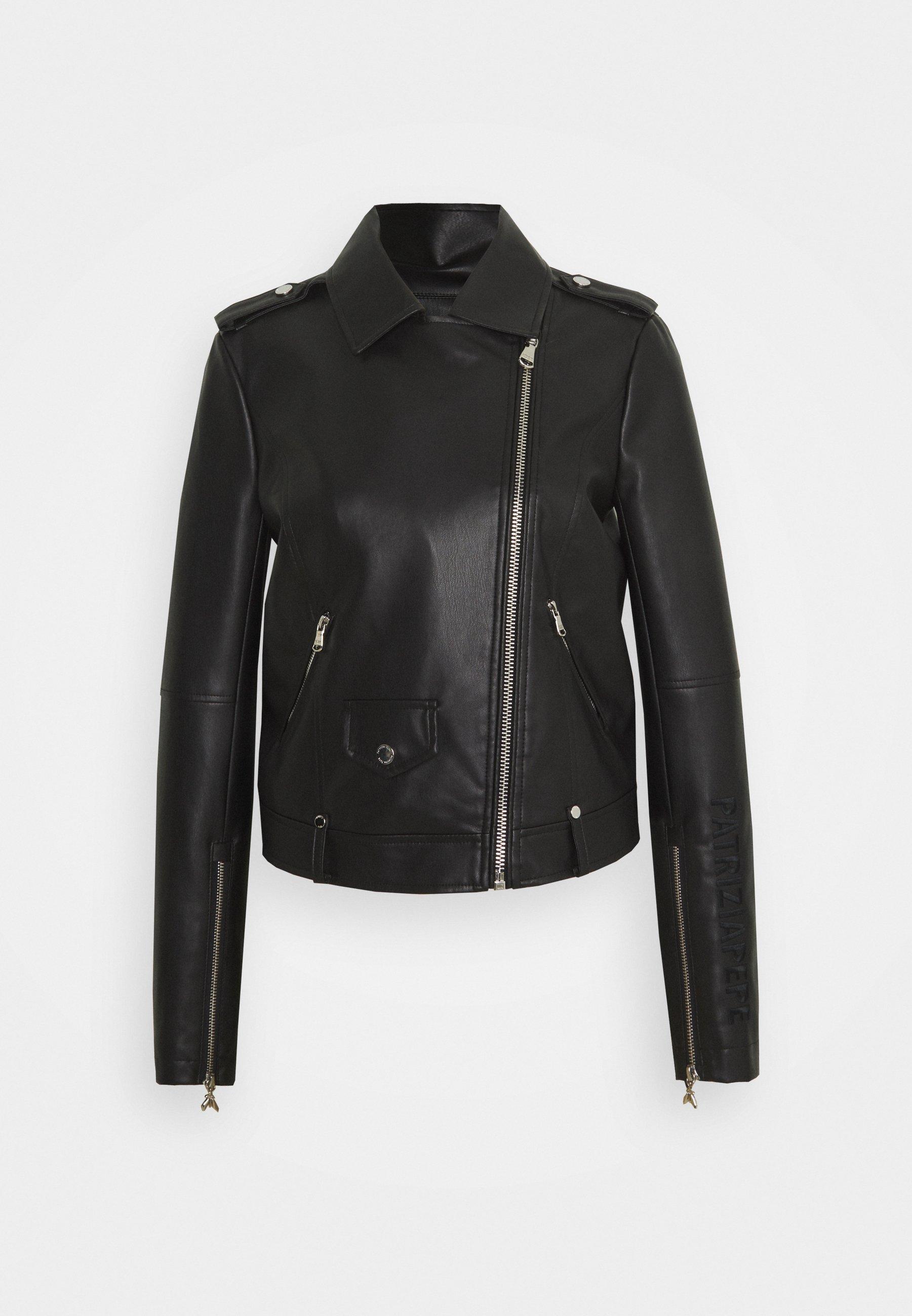Women GIUBBOTTO JACKET - Faux leather jacket