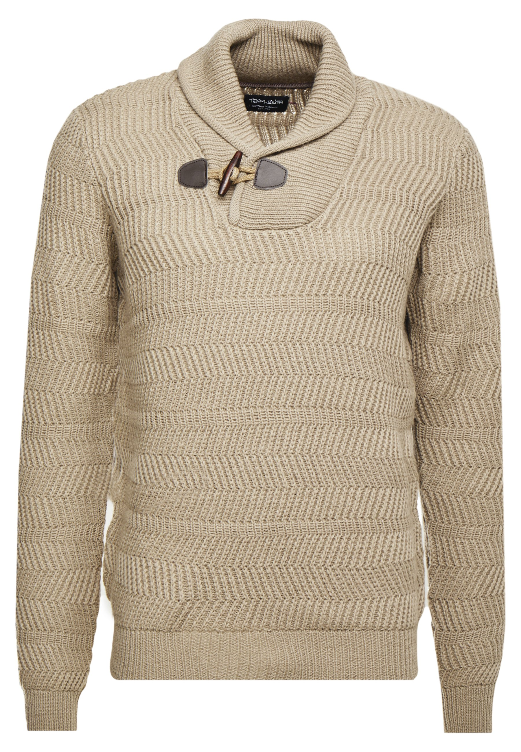 Teddy Smith IRON - Pullover - beige chine/