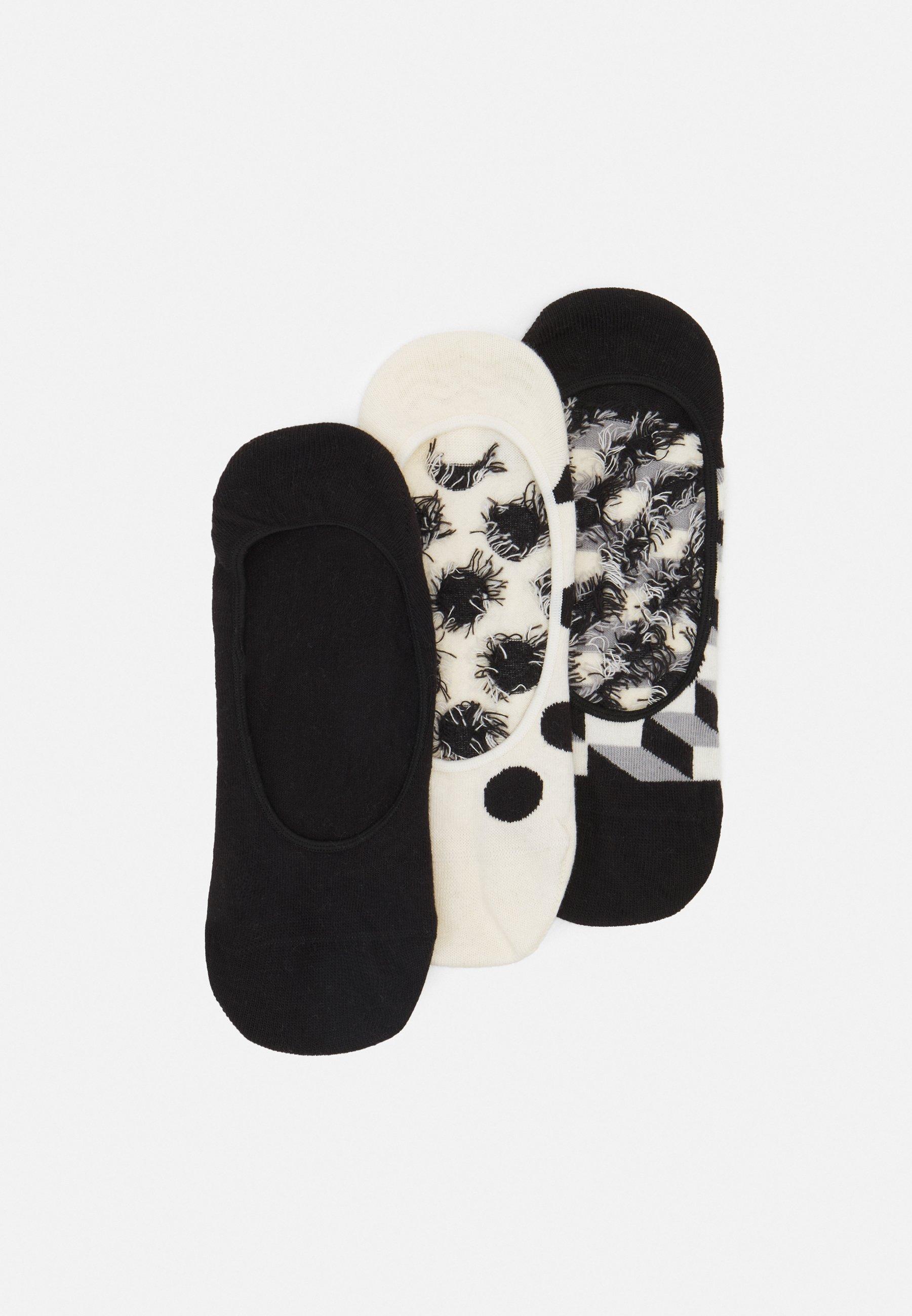 Men FILLED DOT LINER SOCK 3 PACK UNISEX - Socks