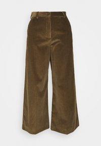 WEEKEND MaxMara - TOBIA - Trousers - mud - 0