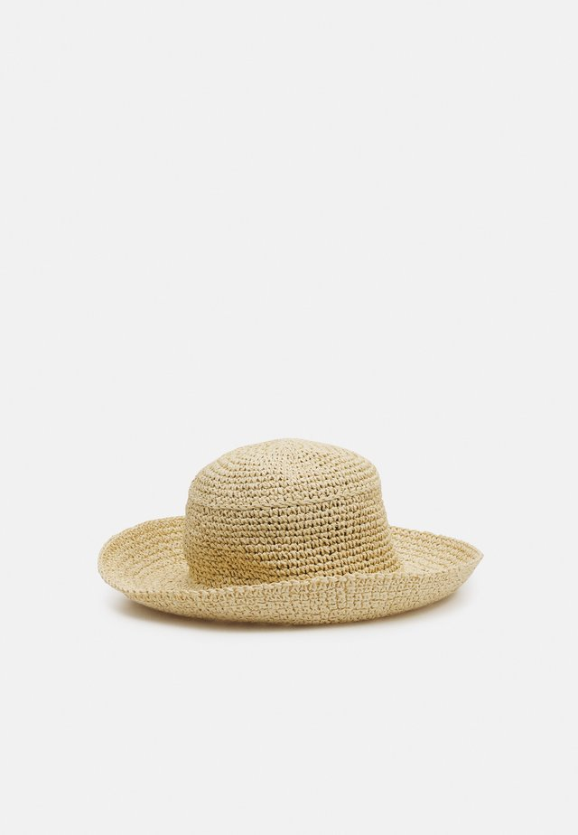 HAILEY BUCKET HAT - Hut - natural