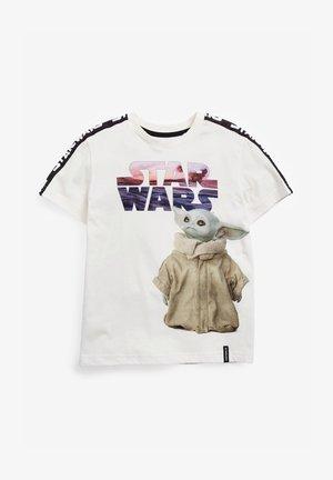 STAR WARS PRINT  - Print T-shirt - white