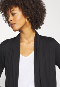 Opus - DAILY - Cardigan - black - 3