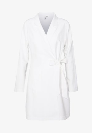 WRAP SUIT DRESS - Day dress - white