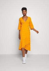 Monki - AMANDA DRESS - Day dress - orange - 1