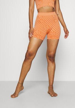 DESIGN CYCLING SHORT - Pyjamabroek - camel