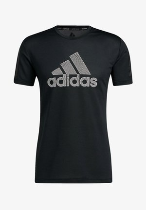 AERO WARRI - T-shirt med print - black