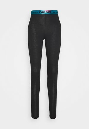 UFLB-FAUSTIN-LP-ML TROUSERS - Nattøj bukser - black