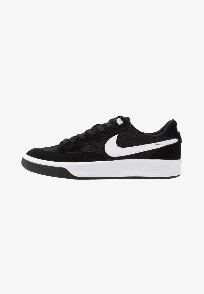 Nike SB - ADVERSARY UNISEX - Skateskor - black/white