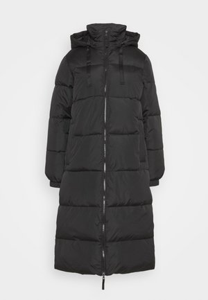 FULL LENGTH PUFFER COAT - Vinterfrakker - true black