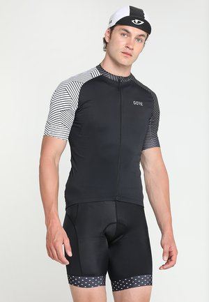 OPTILINE - Sports shirt - black/white