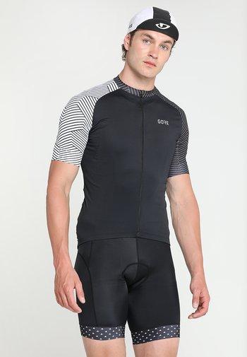OPTILINE - Cycling-Trikot - black/white