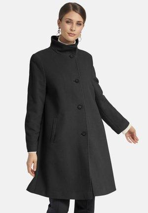 MIT UMLEGEKRAGEN - Classic coat - schwarz