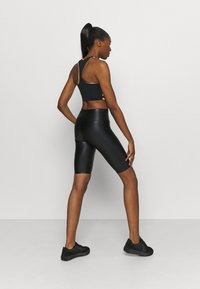 MSGM - SHORTS - Leggings - black - 2