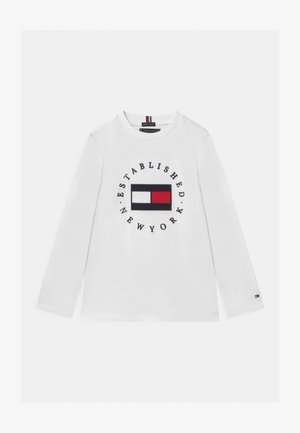 HERITAGE LOGO - Long sleeved top - white
