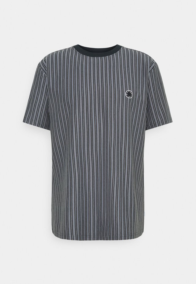 JABI MILK STRIPE TEE - T-shirt con stampa - navy